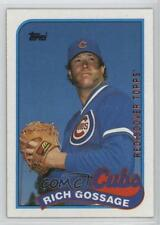 2017 Topps Rediscover Buybacks Bronze #1989-415 Rich Gossage Chicago Cubs Card