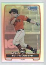 2012 Bowman Chrome Prospects Refractor #BCP100 Tommy Joseph San Francisco Giants
