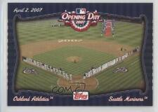 2007 Topps Opening Day #OD11 Oakland Athletics Team Seattle Mariners Card
