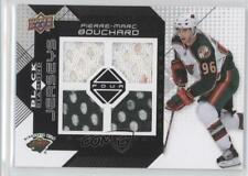 2008-09 Upper Deck Black Diamond Quad Jerseys #BDJ-PI Pierre-Marc Bouchard Card