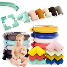 Baby Safety Table Desk Edge Guard Strip Bumper Protector + 4 pcs Corners Cushion