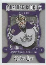 2007-08 O-Pee-Chee #550 Jonathan Bernier Los Angeles Kings RC Rookie Hockey Card