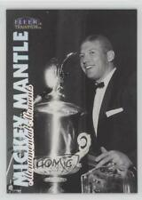 1998 Fleer Tradition Monumental Moments #6MM Mickey Mantle New York Yankees Card