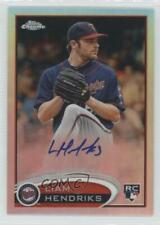 2012 Topps Chrome Rookie Autograph Refractor #154 Liam Hendriks Auto Card