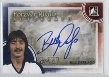 2012-13 In the Game Forever Rivals Series Autographs A-BD Bill Derlago Auto Card