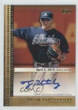 2012 Topps Update Series Golden Debut Autographs #GDA-TP Tyler Pastornicky Auto