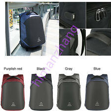 """Waterproof Anti-theft Backpack Laptop Case Travel Bag W USB Charging Port 23"""""""
