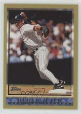 2010 Topps The Cards Your Mom Threw Out Original Back #160 Derek Jeter Card