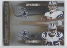 2009 Playoff Contenders Draft Class 6 Kevin Ogletree Stephen McGee Football Card