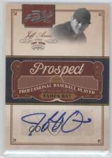 2011 Playoff Prime Cuts Prospect Signatures #JA Jeff Ames Tampa Bay Rays Auto