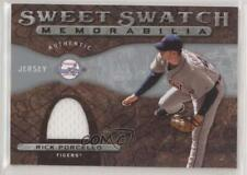 2009 Sweet Spot Swatch Memorabilia #SS-RP Rick Porcello Detroit Tigers Card