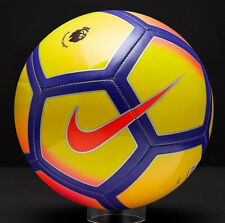 Nike 2017/18 Pitch English Premier League Winter Football Ball Hi viz Edition