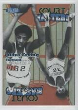 2011 Fleer Retro Ultra Court Masters #6CM Julius Erving Massachusetts Minutemen