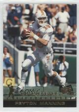 1998 Press Pass #50 Peyton Manning Tennessee Volunteers Rookie Football Card