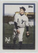 2010 Topps Vintage Legends Collection #VLC33 Christy Mathewson New York Giants