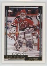 1992-93 Topps Gold #303 Chris Terreri New Jersey Devils Hockey Card