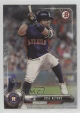 2017 Bowman #19 Jose Altuve Houston Astros Baseball Card