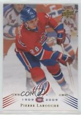 2008-09 Upper Deck Montreal Canadiens Centennial Set #119 Pierre Larouche Card