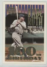 1995 Topps/Megacards Conlon Collection 3.2 Babe Ruth (100th Birthday Stamp) Card