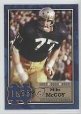 2003 2003-07 TK Legacy Notre Dame #M36 Mike McCoy Fighting Irish Football Card
