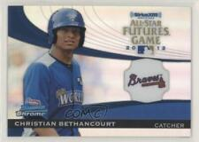 2012 Bowman Chrome All-Star Futures Game FG-CB Christian Bethancourt Rookie Card