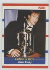1990-91 Score Bilingual #364 Patrick Roy Montreal Canadiens Hockey Card