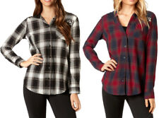 Fox Racing Womens Deny Flannel Button-Up Shirt