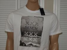 Armani Exchange Authentic Surf Logo T shirt  Regular Fit White NWT