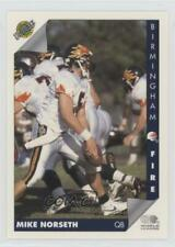 1992 Ultimate World League of American Football Previews #MINO Mike Norseth Card