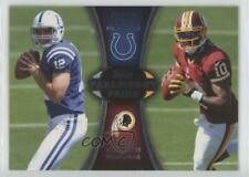 2012 Topps Paramount Pairs #PA-LG Andrew Luck Robert Griffin III Football Card