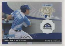 2012 Bowman Chrome All-Star Futures Game #FG-NA Nolan Arenado Colorado Rockies
