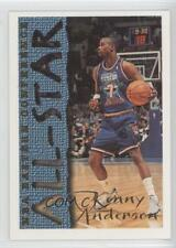 1994 Topps #10 Kenny Anderson New Jersey Nets NBA All-Star Team Basketball Card