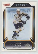 2006-07 Victory #215 Shea Weber Nashville Predators RC Rookie Hockey Card