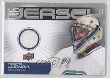 2010-11 Upper Deck UD Game Jersey #GJ2-RL Roberto Luongo Vancouver Canucks Card
