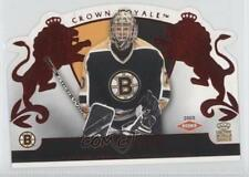 2002-03 Pacific Crown Royale Red 104 Tim Thomas Boston Bruins Rookie Hockey Card