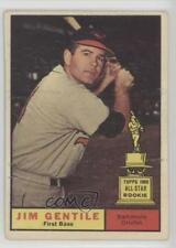 1961 Topps #559 Jim Gentile Baltimore Orioles Baseball Card