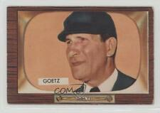 1955 Bowman #311 Lawrence Goetz RC Rookie Baseball Card