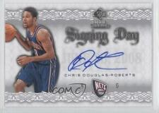 2008-09 SP Rookie Threads Signing Day #SD-CD Chris Douglas-Roberts Auto Card
