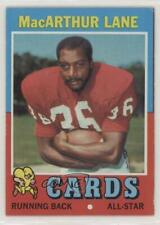 1971 Topps #135 MacArthur Lane St. Louis Cardinals RC Rookie Football Card