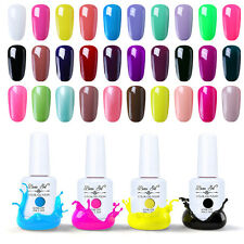 Beau Gel Soak Off Nail Gel Polish UV LED Varnish 15ml Top Coat Primer Manicure