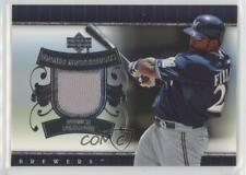 2007 Upper Deck UD Game Materials #UD-PF Prince Fielder Milwaukee Brewers Card