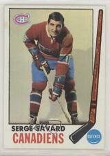 1969-70 Topps #4 Serge Savard Montreal Canadiens RC Rookie Hockey Card