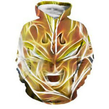 Women Men 3D Print Dragon Ball Evil Vegeta Sweatshirt Pullover Hoodie Sportswear