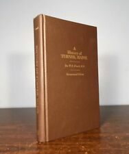A HISTORY OF TURNER, MAINE Rev. French 1986 Centennial Edition Reprint + Index