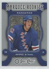 2007-08 O-Pee-Chee #572 Marc Staal New York Rangers RC Rookie Hockey Card