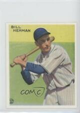 1983 Renata Galasso 1933 Goudey Reprints #227 Billy Herman Chicago Cubs Card