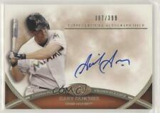 2012 Topps Tier One #CPA-GSA Gaby Sanchez Miami Marlins Auto Baseball Card