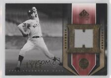 2004 SP Legendary Cuts Historic Swatches HS-SL Sparky Lyle New York Yankees Card
