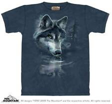 WOLF REFLECTION CHILD T-SHIRT THE MOUNTAIN