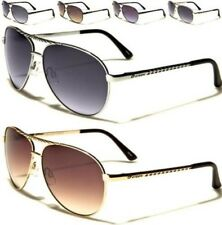 NEW SUNGLASSES MENS LADIES UNISEX BLACK MIRROR SPORTS METAL AVIATOR RETRO UV400
